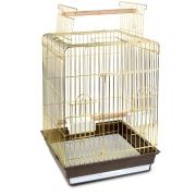 Клетка Triol N 1038А золото для птиц 48*48*86см
