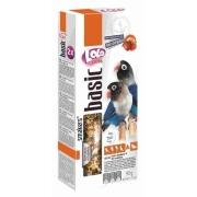 Дополнительная кормовая смесь LoLo Pets Smakers для неразлучников с фруктами, 90...