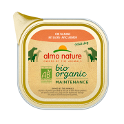 Консервы Almo Nature Biorganic with Salmon Био-меню паштет с лососем для собак...