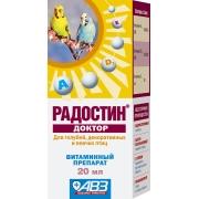 """АВЗ: Радостин """"Доктор"""" мультивитаминный комплекс для птиц, 20мл ..."""