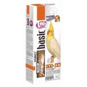 Лакомство LoLo Pets Smakers с орехами для средних попугаев, 90 гр...