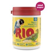 Витаминно-минеральные гранулы RIO  для волнистых и средних попугаев 120гр...