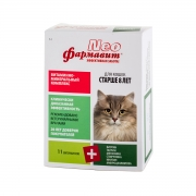 Витаминно-минеральный комплекс Фармавит Neo для кошек (для стареющих) (60таб)...