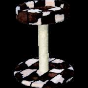 Когтеточка-лежанка Зооник круглая на подставке 50х50х59см...