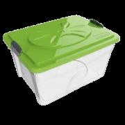 Контейнер BAMA PET для хранения корма SIM BOX 18л 40x30x22h см...
