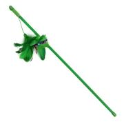 Дразнилка Triol Зеленые перья 48 см