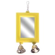 Игрушка для птиц Triol Зеркало с колокольчииком 8*17,5 см...