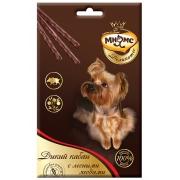 Лакомство Мнямс Деликатес лакомые палочки 13,5 см для собак с мясом дикого кабан...