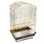 Клетка Triol N 6112 золото для птиц 46.5*36*71см