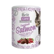 Лакомство Brit Care Superfruits Salmon Суперфрукты лосось 100 г...