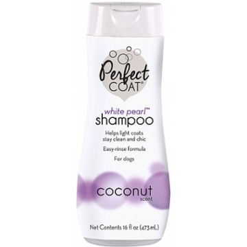 Шампунь-кондиционер 8in1 Perfect Coat White Pearl для светлых окрасов с ароматом кокоса 473 мл