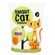 Силикагелевый наполнитель Smart Cat с ароматом апельсина...