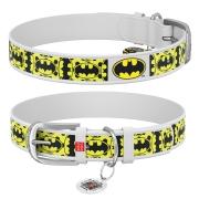 """Ошейник Collar WAUDOG Design DC Comics """"Бэтмен 4"""" Белый..."""