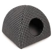 """Дом PerseiLine для животных Вигвам, """"лофт"""", 40х40х39, серый..."""