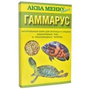 """Корм Аква меню """"Гаммарус"""" натуральный для крупных и средних аквариумны..."""