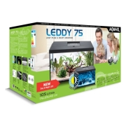 Аквариум Aqua El Leddy Set Plus D&N 75 105л белый