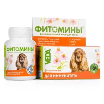 Фитомины Веда для иммунитета для собак (50гр)