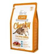 Сухой корм Brit Care Cat Cheeky Outdoor для активных кошек и кошек уличного соде...