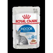 Влажный корм Royal Canin Indoor Sterilized (в соусе) для кошек 85гр...