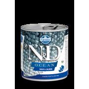 Farmina N&D Dog Ocean для собак, форель и лосось 285г