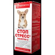 Apicenna: Стоп-Стресс 200мг для собак до 30кг, 20табл....
