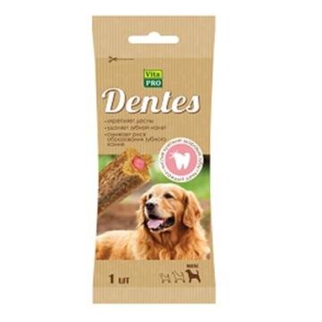 Лакомство VitaPRO Dentes жевательное для собак крупных пород, 50г