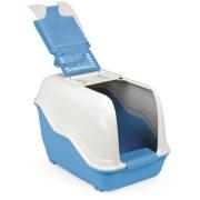 Био-туалет MPS NETTA 54х39х40h см с совком голубой