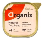 Консервы Organix бычьи семенники в желе, цельные для собак 300гр...