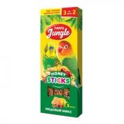 Лакомство Happy Jungle медовый микс для птиц 3 шт.