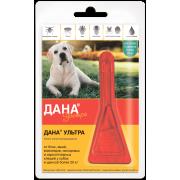 Apicenna: Дана Ультра (1 пип) капли от блох 3,2мл для собак и щенков более 20 кг...
