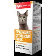 Apicenna: Празицид плюс 7мл суспензия антигельминтик для кошек, 1мл/1кг...