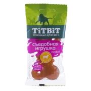Лакомство TiTBiT Съедобная игрушка косточка с ягненком Standart для собак...