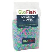 Грунт GloFish Гравий Розовый/ зеленый/голубой, с GLO вкраплениями, 2.26кг...