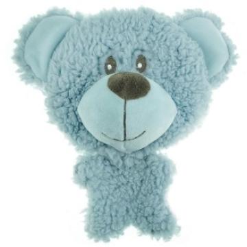 Игрушка AROMADOG для собак BIG HEAD Мишка 12 см голубой