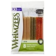 Лакомства WHIMZEES Зубная палочка для собак XS 8 см 8 шт в блистере...