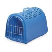 Переноска IMAC LINUS CABRIO для кошек и собак 50х32х34,5см, нежно-голубой ...