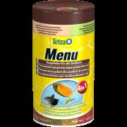 """TetraMenu корм для всех видов рыб """"4 вида"""" мелких хлопьев ..."""