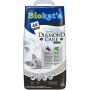 Комкующийся наполнитель BIOKAT'S Diamond Care CLASSIC с активированным углем 8л...
