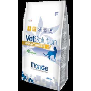 Сухой корм Monge VetSolution Cat Urinary Oxalate для профилактики и лечения мочекаменной болезни оксалатного типа