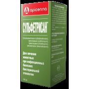 Apicenna: Сульфетрисан антибиотик для иньекций, 100 мл...