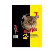 Минеральный впитывающий наполнитель Brava для гладкошерстных кошек и котят 7л...