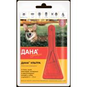 Apicenna: Дана Ультра (1 пип) капли от блох 0,8мл для собак и щенков 5-10 кг ...
