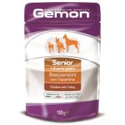 Gemon Dog Pouch паучи для пожилых собак кусочки индейки 100г...