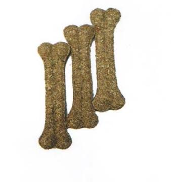 Лакомство Triol для собак кость MB- 4 N прессованная натуральная 10см (30-40гр)