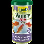 Tetra Pond Variety Sticks корм для прудовых рыб (3 вида палочек) 10 л...