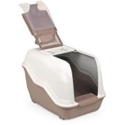 Био-туалет MPS NETTA 54х39х40h см с совком коричневый...