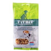 Лакомство TiTBiT Хрустящие подушечки с начинкой со вкусом кролика и творога для ...