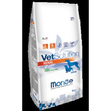 Сухой корм Monge VetSolution Dog Renal при почечной недостаточности у собак
