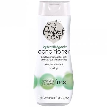 Кондиционер 8in1 Perfect Coat гипоаллергенный для собак, 473мл