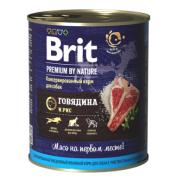 Консервы Brit beef and rice говядина и рис для собак, 850г...